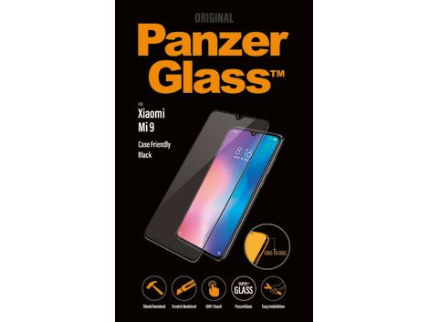 PanzerGlass screenprotector voor de Xiaomi Mi 9 - Black Case Friendly