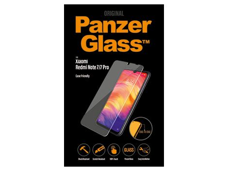 PanzerGlass Screenprotector voor de Xiaomi Redmi Note 7/7 Pro Case Friendly