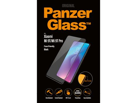 PanzerGlass screenprotector voor de Xiaomi Mi 9T/Mi 9T Pro - Black Case Friendly