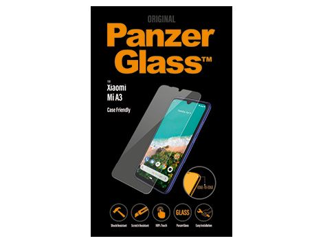 PanzerGlass screenprotector voor de Xiaomi Mi A3- Case Friendly