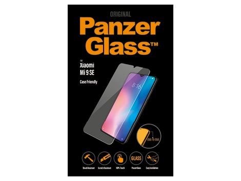 PanzerGlass screenprotector voor de Xiaomi Mi 9 SE Case Friendly