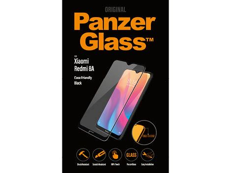 PanzerGlass screenprotector voor de Xiaomi Redmi 8A - Black Case Friendly
