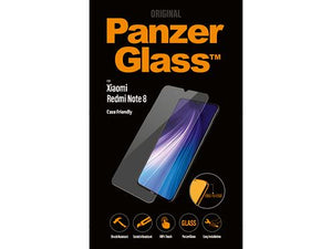 PanzerGlass screenprotector voor de Xiaomi Redmi Note 8 Pro Case Friendly