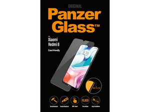 PanzerGlass screenprotector Xiaomi Redmi Note 8 Case Friendly