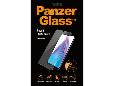 PanzerGlass screenprotector voor de Xiaomi Redmi Note 8T Case Friendly
