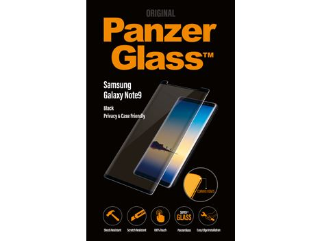 Panzerglass voor de Samsung Galaxy Note9 - PRIVACY Case Friendly