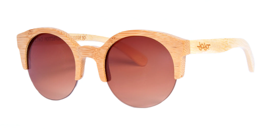 Gafas de Sol Cat Wooden Brown