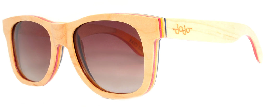 Gafas de Sol Duende Wood Light Beige