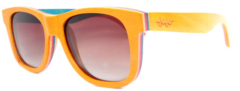 Gafas de Sol Duende Wood Orange