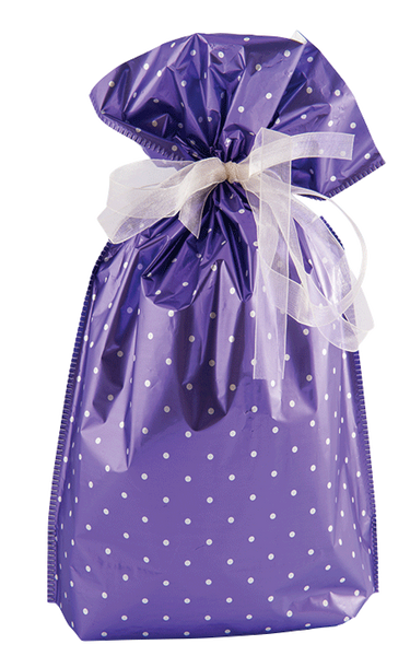 x6 Polka Dot Purple Design