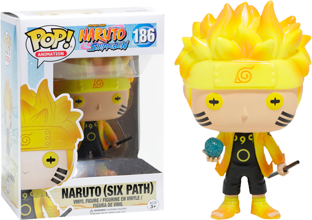 Naruto Shippuden - Naruto (Six Path) Glow US Exclusive Pop! Vinyl - Rogue Online Pty Ltd
