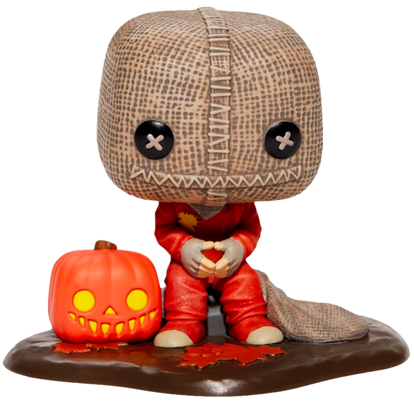 Trick 'R Treat - Sam with Pumpkin & Sack Deluxe Pop! Vinyl Figure (RS) - Rogue Online Pty Ltd