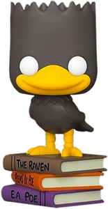 The Simpsons - Bart as The Raven Pop! Vinyl Figure (RS) - Rogue Online Pty Ltd