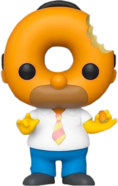The Simpsons - Donut Head Homer Pop! Vinyl Figure (RS) - Rogue Online Pty Ltd