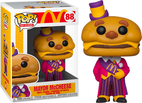 McDonalds - Mayor McCheese Pop! Vinyl - Rogue Online Pty Ltd