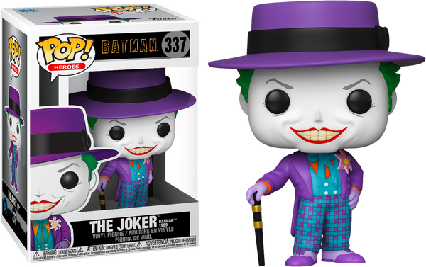 Batman 1989 - Joker with Hat Pop! Vinyl - Rogue Online Pty Ltd