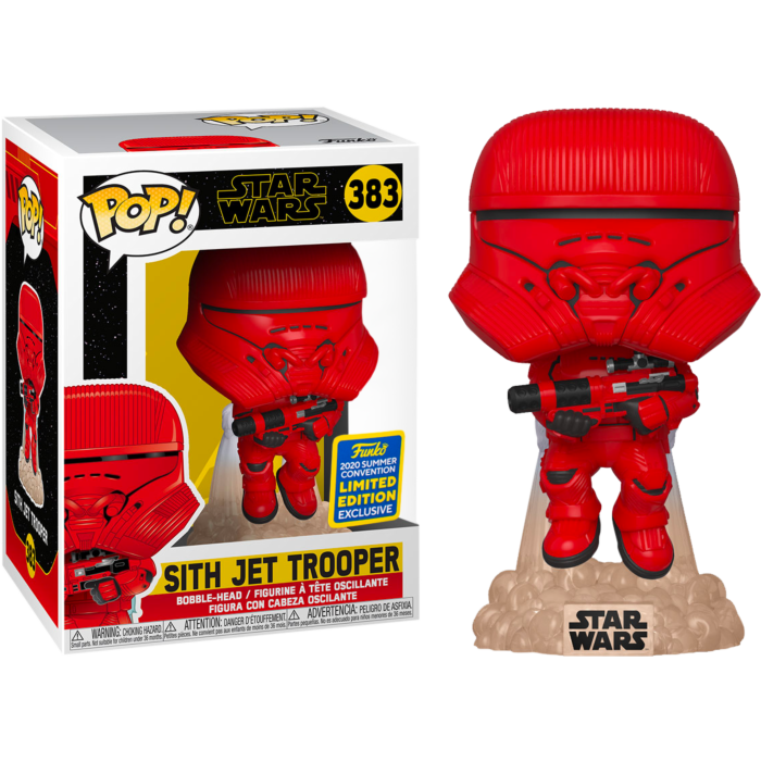 2020 SDCC - Star Wars Sith Jet Trooper Pop! Vinyl Figure (2020 Summer Convention Exclusive)