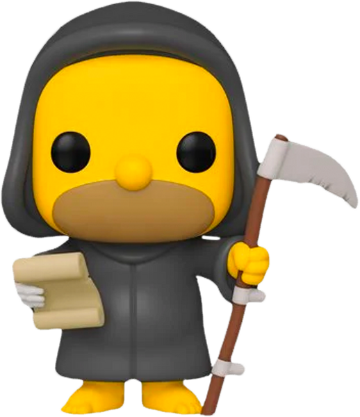 The Simpsons - Grim Reaper Homer Pop! Vinyl Figure - Rogue Online Pty Ltd