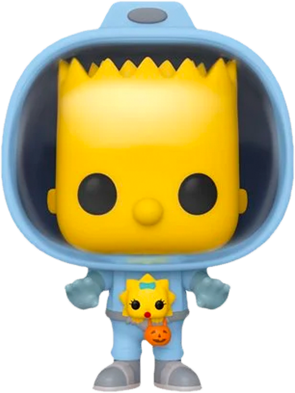 The Simpsons - Bart Simpson with Chestburster Maggie Pop! Vinyl Figure - Rogue Online Pty Ltd