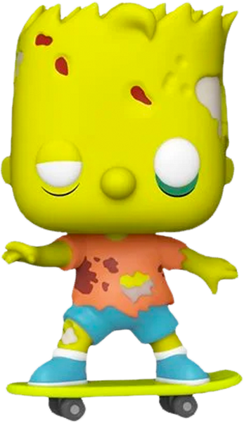 The Simpsons - Zombie Bart Simpson Pop! Vinyl Figure - Rogue Online Pty Ltd