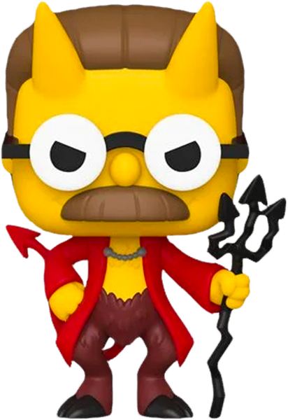 The Simpsons - Devil Flanders Pop! Vinyl Figure - Rogue Online Pty Ltd
