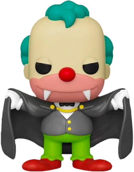The Simpsons - Vampire Krusty Pop! Vinyl Figure - Rogue Online Pty Ltd