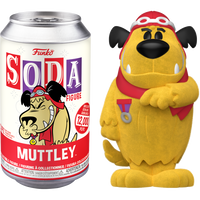 Wacky Races - Muttley Vinyl SODA Figure in Collector Can