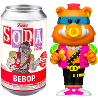 Teenage Mutant Ninja Turtles - Bebop Vinyl SODA Figure in Collector Can