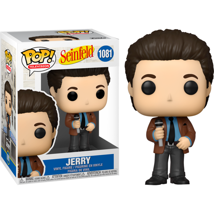 Seinfeld - Jerry Doing Stand-Up Pop! Vinyl Figure