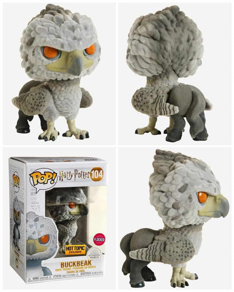 Harry Potter - Buckbeak HOT TOPIC Exclusive Flocked Pop! Vinyl [RS] - Rogue Online Pty Ltd