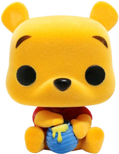 Winnie the Pooh - Seated Pooh Flocked US Exclusive Pop! Vinyl - Rogue Online Pty Ltd