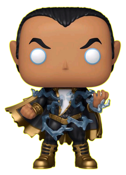 DC Comics - Black Adam with Energy Glow US Exclusive Pop! Vinyl [RS] - Rogue Online Pty Ltd