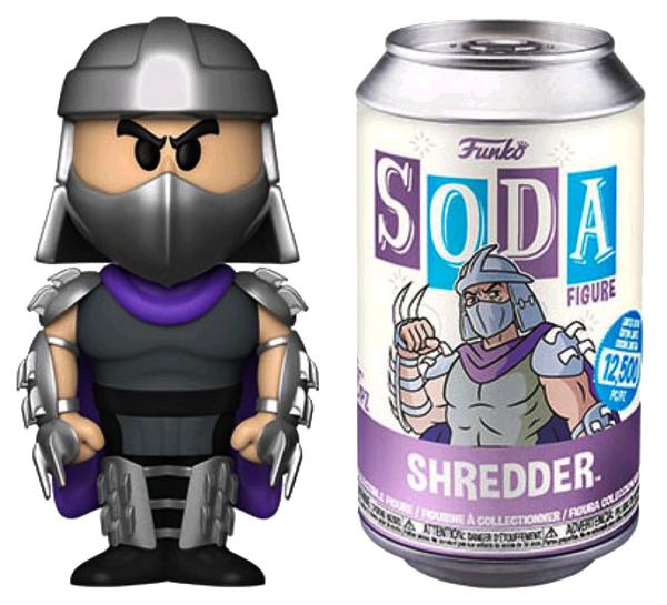 Teenage Mutant Ninja Turtles - Shredder (with chase) Vinyl Soda - Rogue Online Pty Ltd