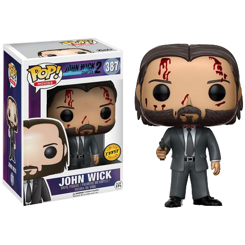 John Wick 2 - John Wick (with chase) Pop! Vinyl - Rogue Online Pty Ltd