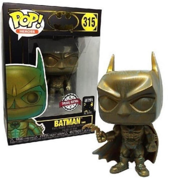 Batman 1989 - Batman Patina 80th Anniversary US Exclusive Pop! Vinyl [RS] - Rogue Online Pty Ltd