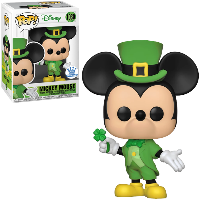 Lucky Mickey Mouse Pop! Vinyl - Funko Shop Exclusive