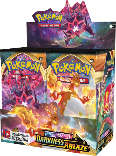 POKÉMON TCG Sword and Shield- Darkness Ablaze Booster - Rogue Online Pty Ltd