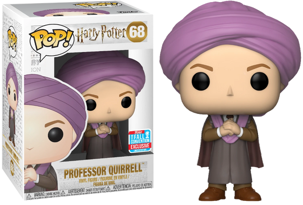 Funko Harry Potter Professor Quirrell Pop! Vinyl 2018 New York Fall Convention Exclusive - Rogue Online Pty Ltd