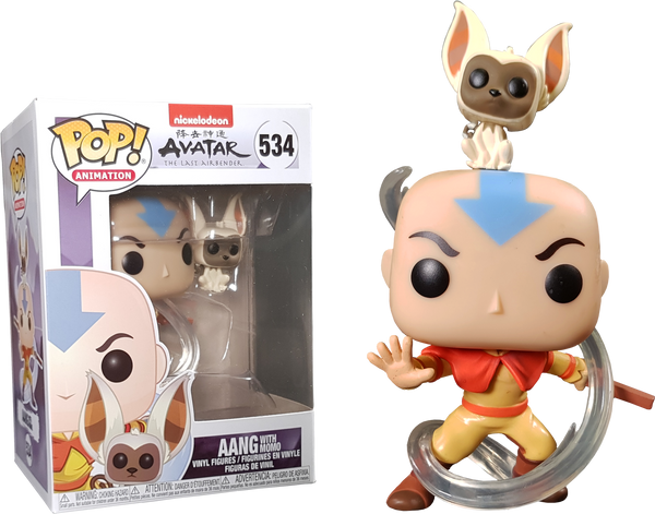 Avatar The Last Airbender - Aang with Momo Pop! Vinyl - Rogue Online Pty Ltd