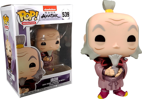 Avatar The Last Airbender - Iroh with Tea Pop! Vinyl - Rogue Online Pty Ltd