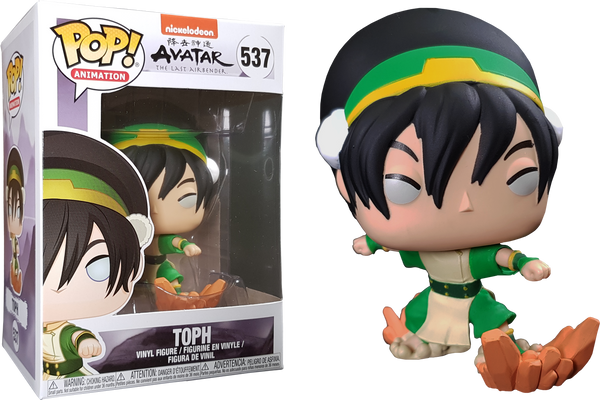 Avatar: The Last Airbender - Toph Pop! Vinyl Figure - Rogue Online Pty Ltd