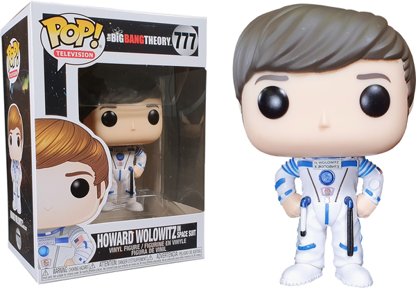 The Big Bang Theory - Howard Wolowitz in Astronaut Suit Pop! Vinyl Figure - Rogue Online Pty Ltd