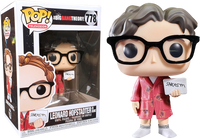 The Big Bang Theory - Leonard Hofstadter with Sarcasm Sign Pop! Vinyl Figure - Rogue Online Pty Ltd