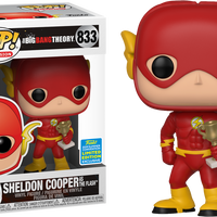 Big Bang Theory - Sheldon Cooper as The Flash SDCC 2019 Exclusive Pop! Vinyl - Rogue Online Pty Ltd