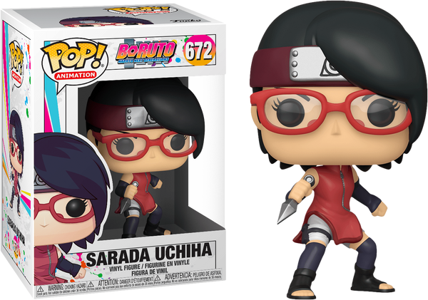 Boruto - Sarada Uchiha Pop! Vinyl - Rogue Online Pty Ltd
