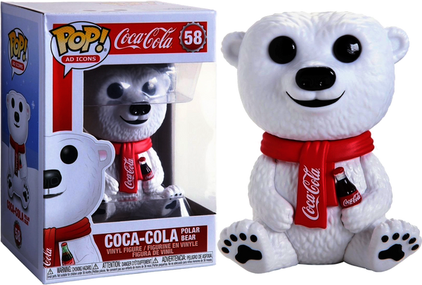 Coca-Cola - Polar Bear Pop! Vinyl - Rogue Online Pty Ltd
