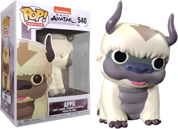 Avatar The Last Airbender - Appa Pop! Vinyl - Rogue Online Pty Ltd