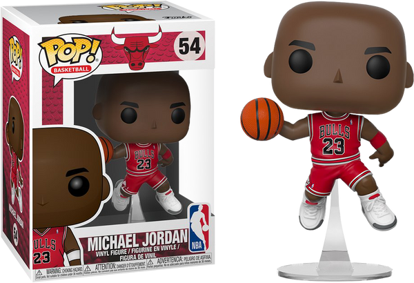 NBA Basketball - Michael Jordan Chicago Bulls Pop! Vinyl Figure - Rogue Online Pty Ltd