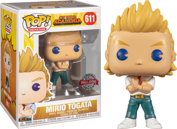 My Hero Academia - Mirio Togata Pop! Vinyl Figure (RS) - Rogue Online Pty Ltd