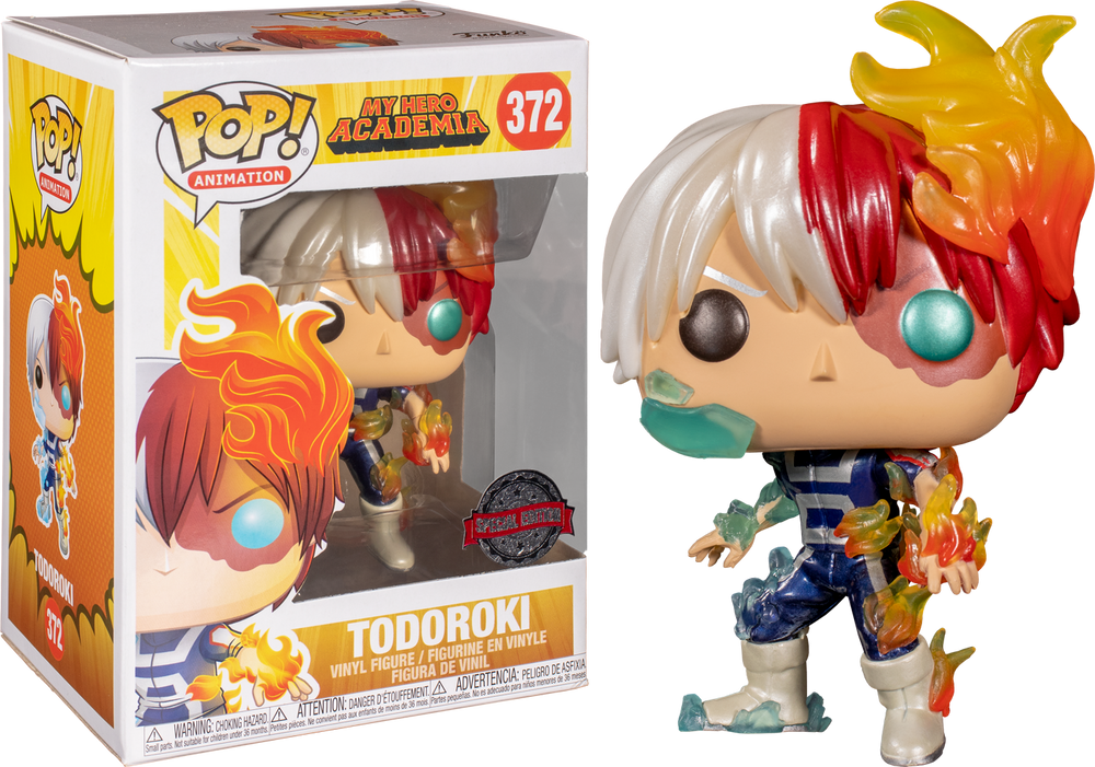 My Hero Academia - Todoroki Metallic US Exclusive Pop! Vinyl [RS] - Rogue Online Pty Ltd